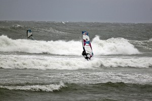 Wave Windsurfing, Hanstholm Denmark
