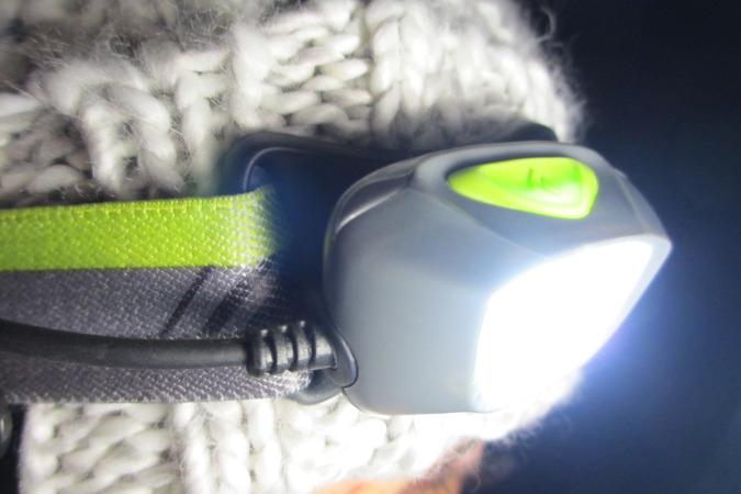 Black Diamond Stirnlampe Test