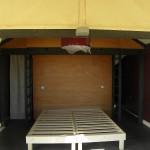 Das Hauptbett im 6-Personen-Glent